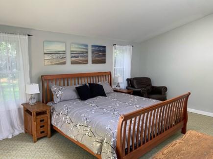Oak Bluffs Martha's Vineyard vacation rental - Master bedroom (king) -- lots of room, walk-in closet, TV/cable