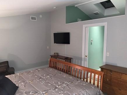 Oak Bluffs Martha's Vineyard vacation rental - Open ceiling to bathroom/walk-in shower