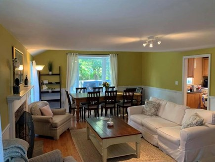 Oak Bluffs Martha's Vineyard vacation rental - Open living/dining area (table seats 8)