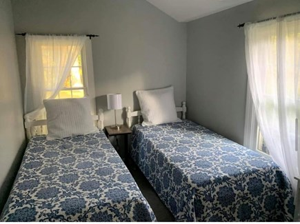 Oak Bluffs Martha's Vineyard vacation rental - Twin room - 2 twins with mounted TV/cable & large closet