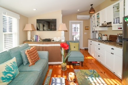 Oak Bluffs Martha's Vineyard vacation rental - Efficiency studio space at rear of first floor with queen pullout