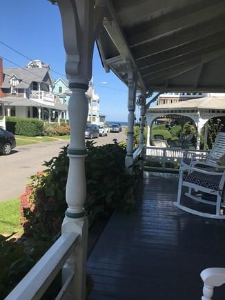 Oak Bluffs Martha's Vineyard vacation rental - View of Nantucket Sound from the porch