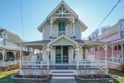 Oak Bluffs Martha's Vineyard vacation rental - Beautiful Porch with view of Nantucket Sound