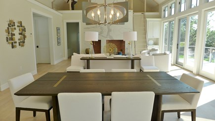 Oak Bluffs Martha's Vineyard vacation rental - Dining Area between Kitchen and Living Area