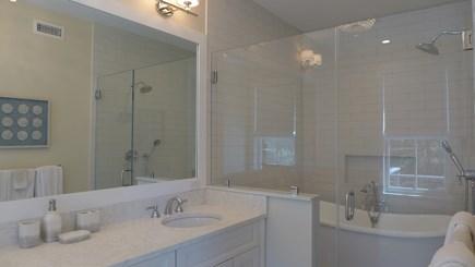 Oak Bluffs Martha's Vineyard vacation rental - Master full bath w/ lady slipper soaking tub & tiled shower