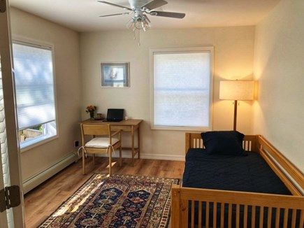 Oak Bluffs Martha's Vineyard vacation rental - French doors adjourn into office with twin day bed