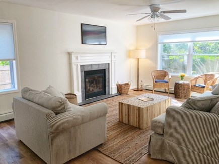 Oak Bluffs Martha's Vineyard vacation rental - Living Room with Samsung Smart Frame TV
