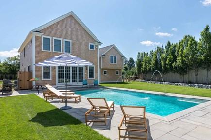 Edgartown Martha's Vineyard vacation rental - Back yard and pool