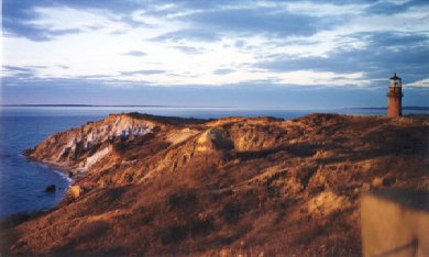 Aquinnah Martha's Vineyard vacation rental - The cliffs at sunset for an evening stroll.
