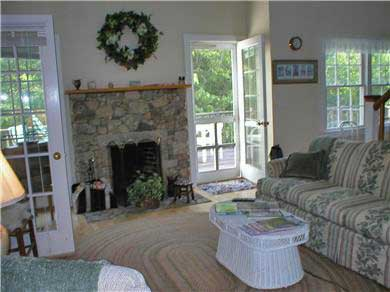 Aquinnah Martha's Vineyard vacation rental - Gather to discuss day's events and plans .