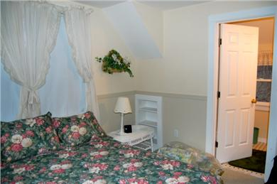 Aquinnah Martha's Vineyard vacation rental - Private upstairs double bedroom with bath and loft. Nice suite!
