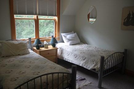 Vineyard Haven, Lower Makonikey, off Lambert's Cove Rd Martha's Vineyard vacation rental - Twin bedroom A