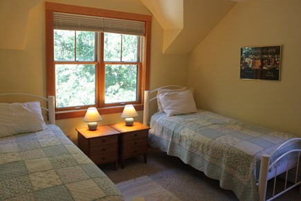 Vineyard Haven, Lower Makonikey, off Lambert's Cove Rd Martha's Vineyard vacation rental - Twin bedroom