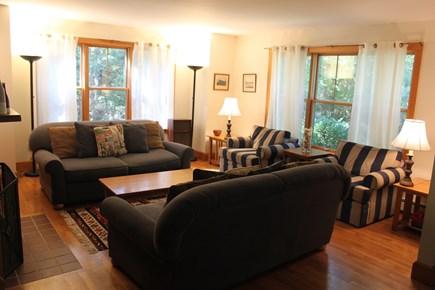 Vineyard Haven, Lower Makonikey, off Lambert's Martha's Vineyard vacation rental - Living Room