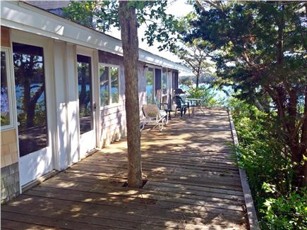 Vineyard Haven Martha's Vineyard vacation rental - Sit on the deck and enjoy the view and amazing sunsets.
