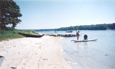 Vineyard Haven Martha's Vineyard vacation rental - Gentle sandy beach ideal for children.
