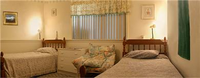Edgartown Martha's Vineyard vacation rental - Bedroom with twin beds