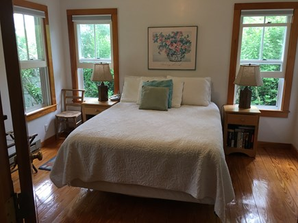 Edgartown Martha's Vineyard vacation rental - The Master bedroom with walk-in closet and full bath ensuite