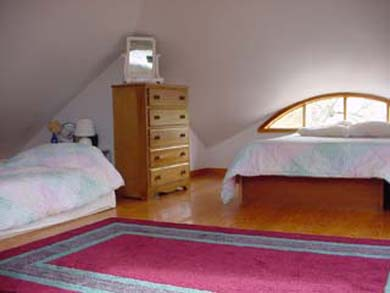 Edgartown Martha's Vineyard vacation rental - The loft bedroom