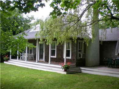 Edgartown Martha's Vineyard vacation rental - Front porches