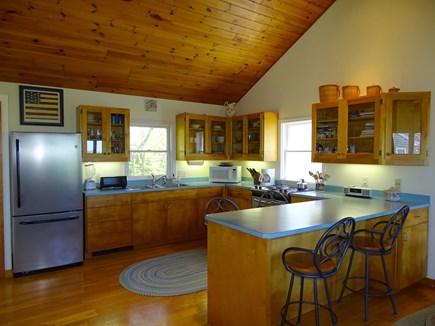 Chilmark Martha's Vineyard vacation rental - Kitchen area with breakfast bar seating