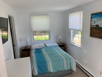 Oak Bluffs Martha's Vineyard vacation rental - 4th BR w/double bed, connecting bath, flat screen tv, waterview