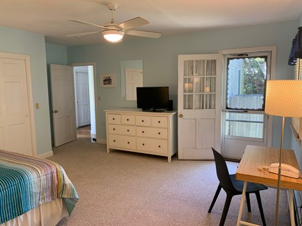 Oak Bluffs Martha's Vineyard vacation rental - Master BR with water view and flat screen tv