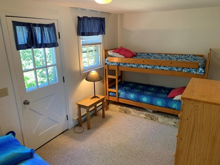 Oak Bluffs Martha's Vineyard vacation rental - 5th BR w/ bunk beds and futon opening to double bed