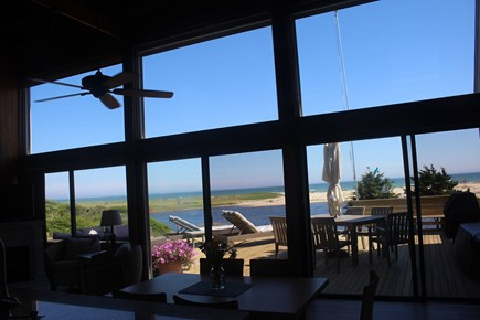 Chilmark - Lucy Vincent Beach Martha's Vineyard vacation rental - View from kitchen