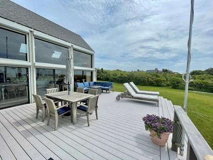 Chilmark - Lucy Vincent Beach Martha's Vineyard vacation rental - Deck