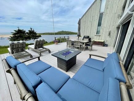 Chilmark - Lucy Vincent Beach Martha's Vineyard vacation rental - Pond view from deck