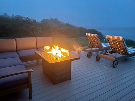 Chilmark - Lucy Vincent Beach Martha's Vineyard vacation rental - Deck at night!