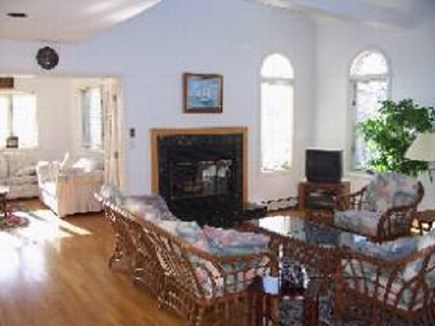 Edgartown   Martha's Vineyard vacation rental - Living room with view to family room