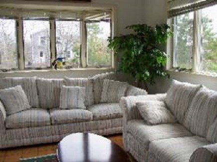 Edgartown   Martha's Vineyard vacation rental - Family Room with plenty of light,  french doors to close it off