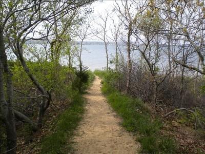 Oak Bluffs Martha's Vineyard vacation rental - Path to beach