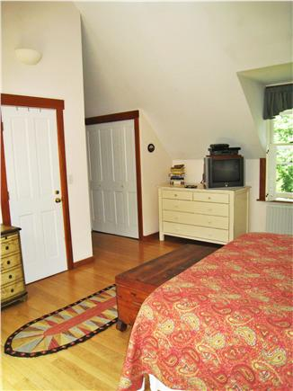 Chilmark Martha's Vineyard vacation rental - Master Bedroom with closet and bath