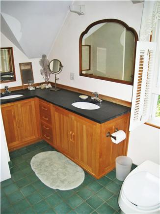 Chilmark Martha's Vineyard vacation rental - Full bath with two sinks