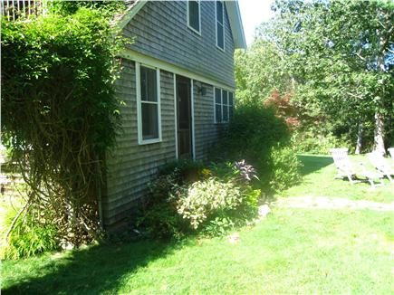 Chilmark Martha's Vineyard vacation rental - Private large yard ideal for kids