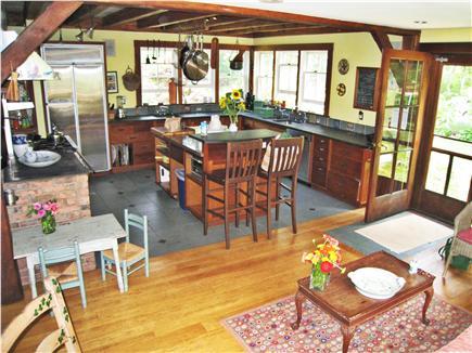 Chilmark Martha's Vineyard vacation rental - Kitchen from living room