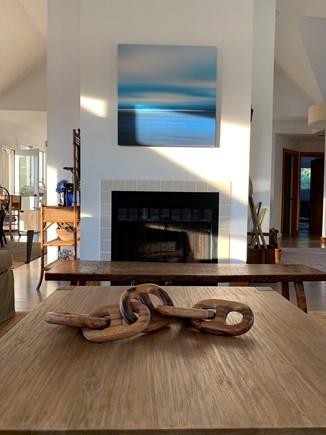West Tisbury Martha's Vineyard vacation rental - Open living room view