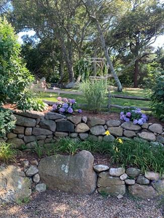 West Tisbury Martha's Vineyard vacation rental - Lower Garden Master Bedroom View