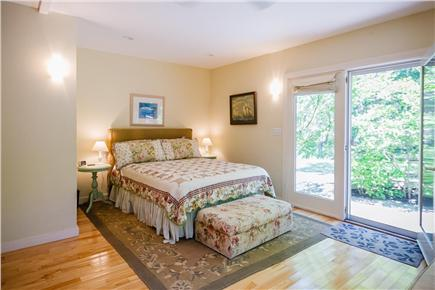 West Tisbury Martha's Vineyard vacation rental - Second Master with ensuite bath and private garden