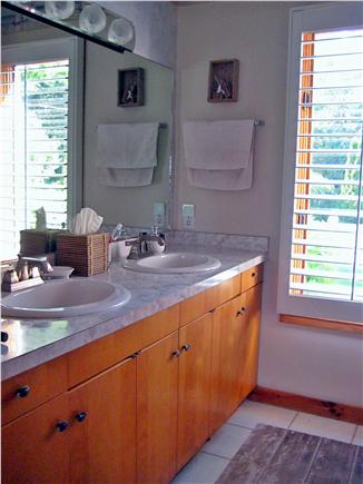 Vineyard Haven Martha's Vineyard vacation rental - Bathroom vanity
