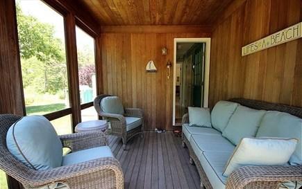 Katama - Edgartown, Edgartown/Katama Martha's Vineyard vacation rental - Screened porch