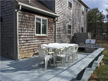 Katama - Edgartown Martha's Vineyard vacation rental - Wraparound Deck, Weber Grill, Enclosed Outdoor Shower