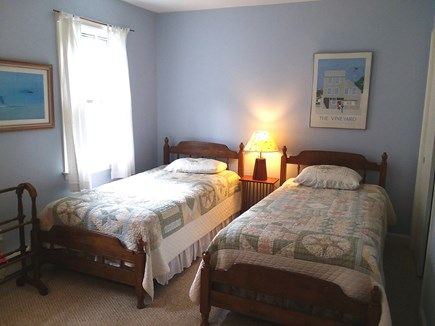 Katama - Edgartown Martha's Vineyard vacation rental - Twins in bedroom #2