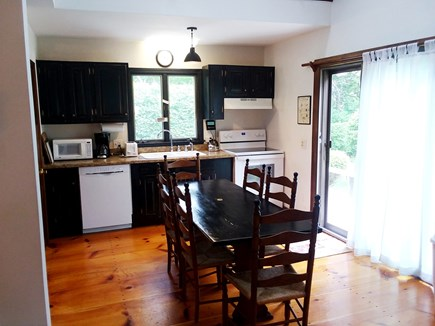 Katama - Edgartown Martha's Vineyard vacation rental - Family Kitchen (seats 8)