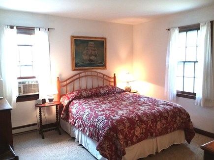 Katama - Edgartown Martha's Vineyard vacation rental - Master bedroom with oversized Queen