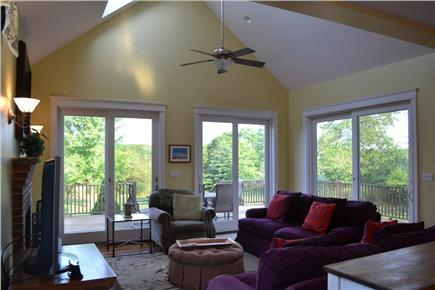 Edgartown/West Tisbury Line Martha's Vineyard vacation rental - Comfortable living for all to enjoy!