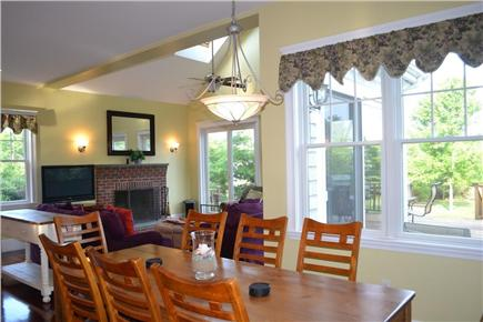 Edgartown/West Tisbury Line Martha's Vineyard vacation rental - Dining Room